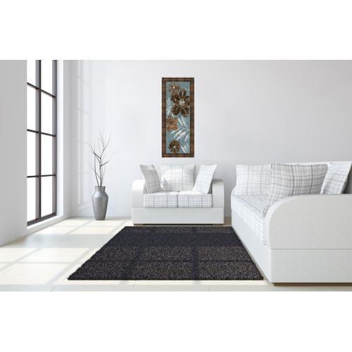 "Classy Art - ""Denim Garden Il"" By Maria Donovan Framed Print Wall Art"
