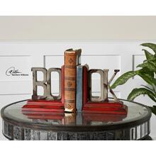 View Product - Book, Bookends, S/2