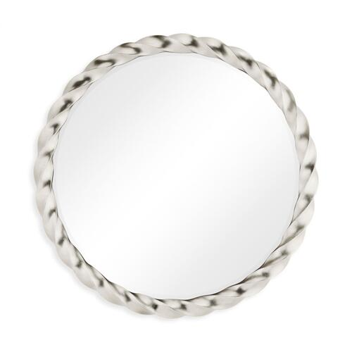 45'' Silver Twisted Mirror