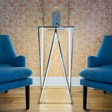 See Details - LED Side Table // Square, Large