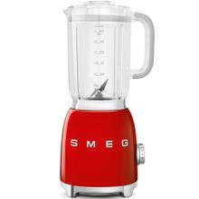 Smeg 50s Retro Style Design Aesthetic Countertop Blender, Red