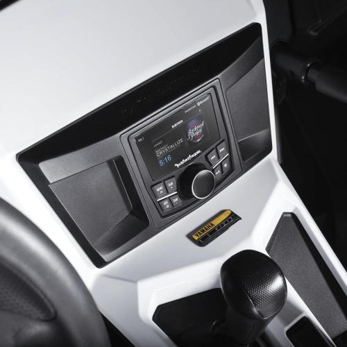 Rockford Fosgate - 400 Watt Amplified Stereo, Front Lower Speaker, Subwoofer, and Rear Speaker Kit for select YXZ®
