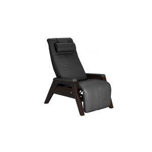 Human Touch - Gravis ZG Chair - Gray - Mahogany