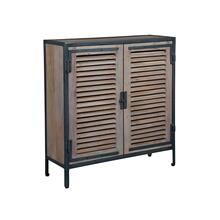 Louvered Door Chest
