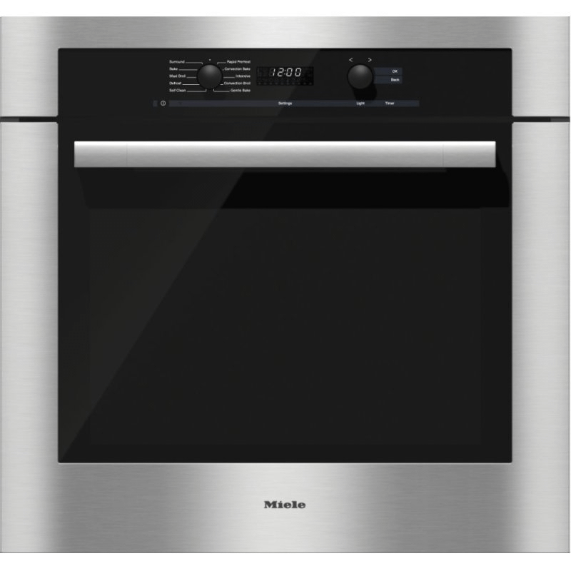 H 6180 BP - 30 Inch Convection Oven with Self Clean for easy cleaning.