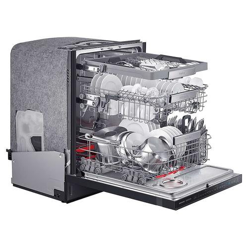 Chef Collection Dishwasher with Hidden Touch Controls in Matte Black Stainless Steel