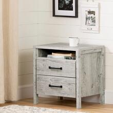 Gravity - 2-Drawer Nightstand, Seaside Pine