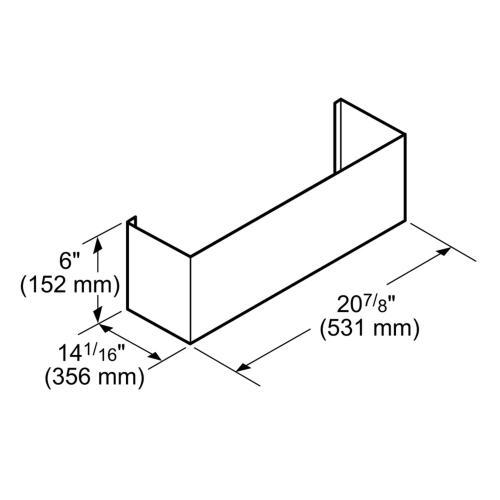 Thermador - Ventilation Accessory CHMHP366W