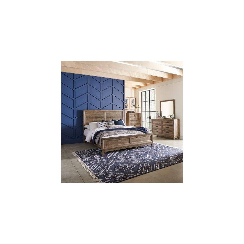 See Details - Queen Panel Bed, Dresser & Mirror, Chest