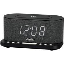 Dual Alarm Clock Radio with Wireless QI® Charging