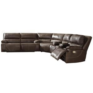 Signature Design By Ashley - Ricmen 3-piece Power Reclining Sectional
