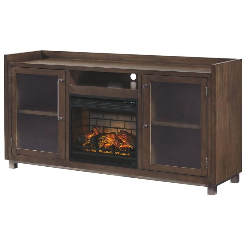 """View Product - Starmore 70"""" TV Stand With Electric Fireplace"""