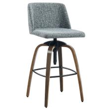 Milo Adjustable Stool, set of 2 in Grey