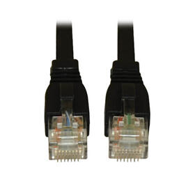 Cat6a 10G Certified Snagless UTP Ethernet Cable (RJ45 M/M), Black, 25 ft. (7.62 m)
