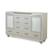 Bel Air Park Upholstered Dresser Champagne