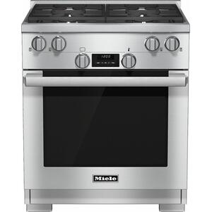 HR 1124 LP 30 inch range All Gas with DirectSelect, Twin convection fans and M Pro dual stacked burners Product Image