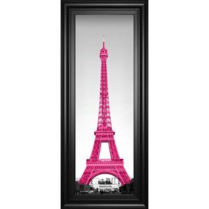 "Classy Art - ""Pretty In Paris"" By Emily Navas Framed Print Wall Art"