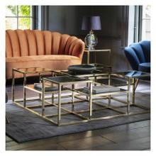 GA Santorini Coffee Table Gold