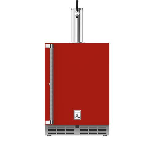 """Hestan - 24"""" Hestan Outdoor Single Faucet Beer Dispenser - GFDS Series - Matador"""