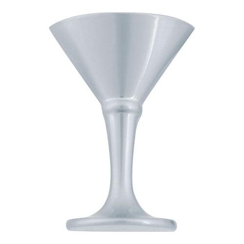 Martini Glass Knob 2 Inch - Brushed Nickel