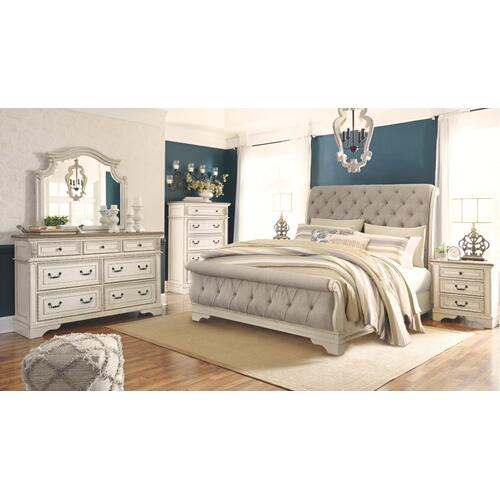 Realyn California King Sleigh Bed