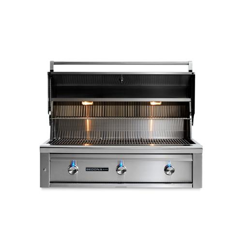 "42"" Sedona by Lynx Built In Grill with 2 Stainless Steel Burners and ProSear Burner, NG"