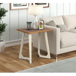 See Details - Double V-leg Rectangular End Table