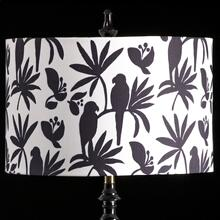 BIRD MIXOLOGY SHADE  MEDIUM  11in X 16in  Available in three sizes this lighting collection has