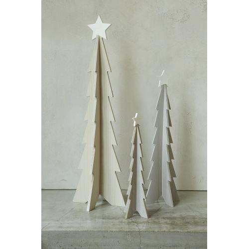 "8.25""x 27"" White Star Tree"