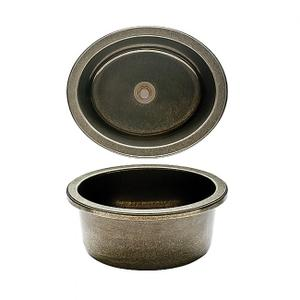 Oval Bar Sink - SK315 Silicon Bronze Brushed Product Image