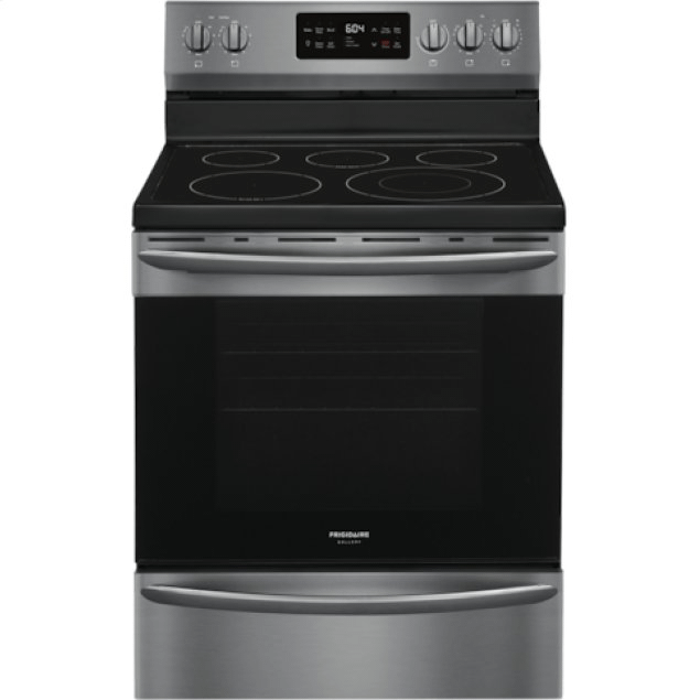 Frigidaire  Gallery 30'' Freestanding Electric Range with Steam Clean