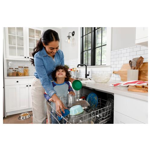 Hotpoint - Hotpoint® One Button Dishwasher with Plastic Interior