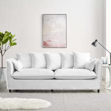 Avalon Slipcover Fabric Sofa in White