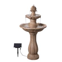 See Details - Frost - Outdoor Solar Floor Fountain
