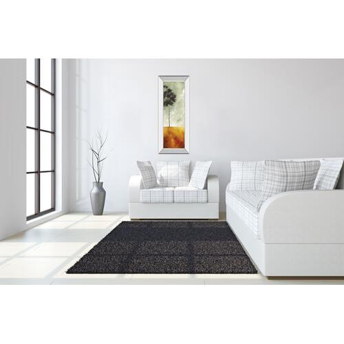 """Palms Left"" Mirror Framed Print Wall Art"