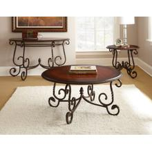 Crowley 3-Piece Set(Cocktail & 2 End Tables)