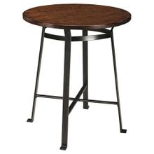 Challiman Counter Height Table Rustic Brown