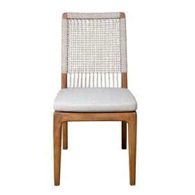 Side Chair, Available in Mahogany Taupe Finish Only.
