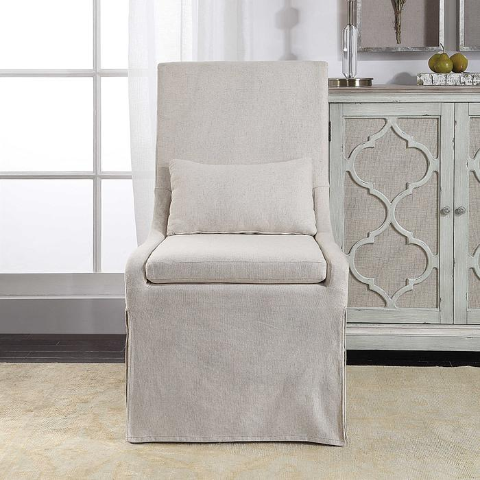 Uttermost - Coley Armless Chair