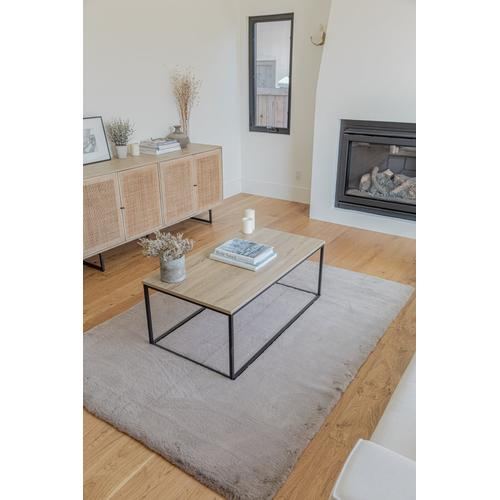 """Chinchilla Feel Faux Fur Area Rug by Rug Factory Plus - 7'6"""" x 10'3"""" / Offwhite"""