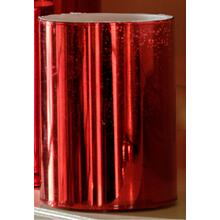 "4"" Red Shimmer LED Candle"