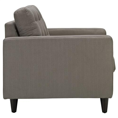 Empress Sofa and Armchairs Set of 3 in Granite