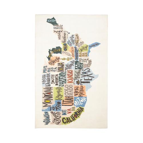 Mohawk - States Map, Multi- Rectangle