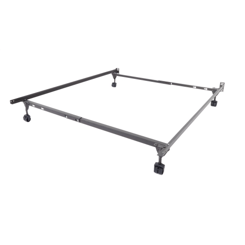 Insta-Lock I-194 Twin/Full Bed Frame with Rollers