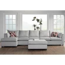 13550 Armless Loveseat