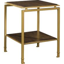 See Details - Montpelier Accent Table Base & Wood Top/Shelf