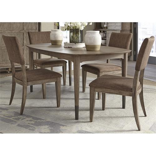 Liberty Furniture Industries - 5 Piece Oval Table Set