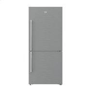 "30"" Freezer Bottom Stainless Steel Refrigerator with Auto Ice Maker"