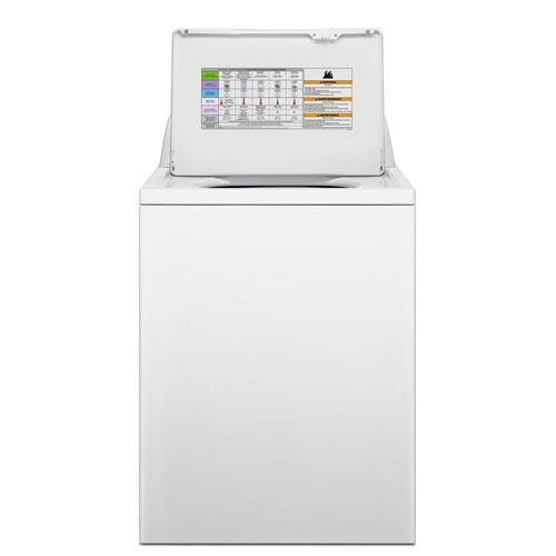 Amana® 4.1 cu. ft. I.E.C. High-Efficiency Top-Load Washer with White Porcelain Tub