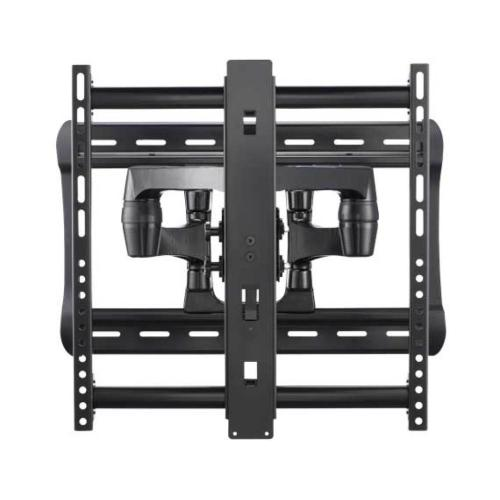 """Black Full-Motion Wall Mount Dual extension arms for 42"""" - 90"""" flat-panel TVs - extends 28"""" / 71.12 cm"""